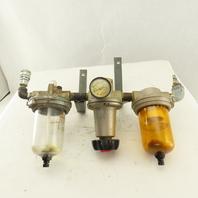 "Schrader Bellows 035341000 1/2"" NPT Filter Lubricator Regulator FRL 150 PSI"