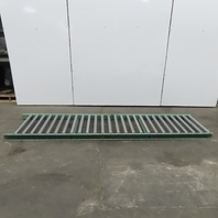 """Roach 30""""x 120"""" Gravity Roller Conveyor 27"""" BF 1.90 Rollers 4"""" Centers"""
