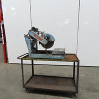 "Target 14"" Masonry Porta Saw 2Hp 115V Single Phase W/Cart Stand"