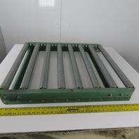 "33""x 30"" Gravity Roller Conveyor 27"" BF x 1.90"" Diameter 4-1/2"" Centers"