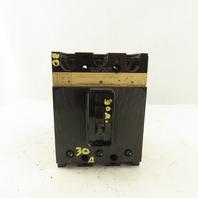 ITE EF3-A030Z 30A Molded Case Circuit Breaker 600V 3 Pole Adjustable Trip