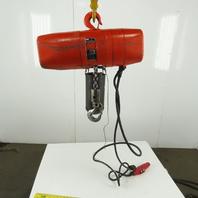 CM Valuestar Model WL Electric Chain Hoist 1 Ton 16FPM 10' Lift 208-230/460V 3Ph