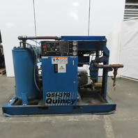 Quincy QSI 370 75Hp Rotary Screw Air Compressor 370 CFM 78755 Hours