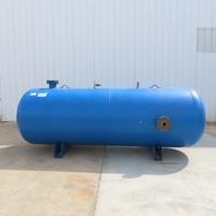 1500 Gallon Capacity Compressor Compressed Air Horizontal Receiver Storage Tank