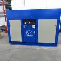 Quincy QSI-600 125Hp  Rotary Screw Air Compressor 65938 Hrs. 242CFM 460V