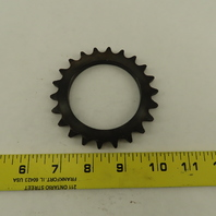 40A22T Single Roller 22 Tooth  #40 Chain Sprocket 2.513/2.520 Bore