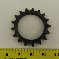 50A17T Single Roller 17 Tooth  #50 Chain Sprocket 2.513/2.520 Bore