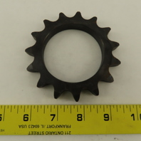 60A15T Single Roller 15 Tooth  #60 Chain Sprocket 2.513/2.520 Bore
