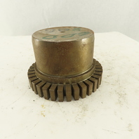 80T Steel Grid Coupling Hub Solid Stock Bore