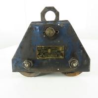 "Harrington 1 Ton (2000LB) Manual Push-Pull Hoist Trolley 3"" Wide Beam"