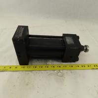 "Parker CHH-2HTS355C 2-1/2"" Bore 4-1/4"" Stroke Saddle Rod End Hydraulic Cylinder"