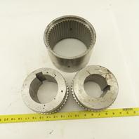 """Kop-Flex Waldron Size 3 Continuous 3W PL Sleeve Coupling 3"""" x 3-5/8"""" Bores"""
