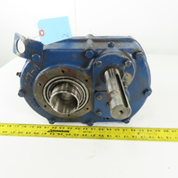 North American Electric NBS-207-4-25 25:1 Ratio 70RPM Right Angle Gear Reducer