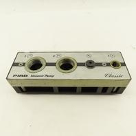 PAIB Vacuum Products M25B6ADN 0.4-0.6MP 50-87PSI Vacuum Pump Generator