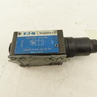 Vickers DGMX2-3-PA-BW-B-40 Hydraulic Pressure Reducing Valve