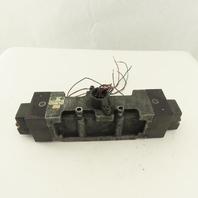 Parker L7253821153VXBB 5/3 Position Closed Center Pneumatic Valve 120V Coil