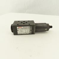 Nachi OG-G01-PC-20 Modular Pressure Reducing Valve