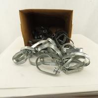 "2"" Adjustable Swivel Band Loop Pipe Hanger 3/8-16 Lot Of 45"