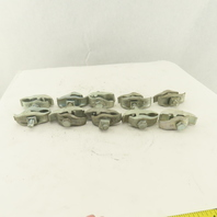 """Steel City 1"""" Parallel Beam Pipe Conduit Clamp Lot Of 10"""