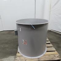 """Cincinnati Fan DDF2.0-30 Axial Tube Fan 30"""" Direct Drive 5Hp 208-230/460V 3Ph"""