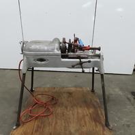 "Ridgid ""500"" Pipe Threader Threading Machine W/Legs 115V 1ph"