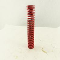 """Moeller RHL125-700 1-1/4"""" x 7"""" Long 5/8"""" Hole Diameter Red Heavy Load Die Spring"""