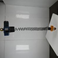 Demag DCMS-PRO 1-125 1/1 H2.8 VS30-30 275LB Electric Hoist 10' Lift 460V 3Ph