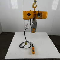 Harrington ER2A-01SY3421 1/2 Ton Electric Chain Hoist 12' Lift 15 FPM 415-460V