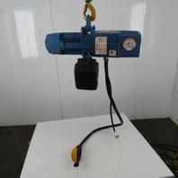 Demag DKUN-5-500K VI 1 Ton Electric Chain Hoist 14' Lift 16FPM 115V Single Phase
