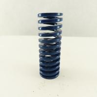 """Moeller RML150-400 1-1/2 x 4"""" Long 7/8"""" Hole Diameter BLUE Med Load Die Spring"""