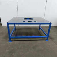 """1/2"""" Thick Top Steel Machine Base Welding Table Work Bench 63""""Wx47""""Dx31H"""