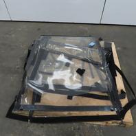 Toyota Soft Panel Vynil Forklift Cab Enclosure For Model 5FBCU15 Roll Up Doors