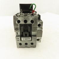 Advance Controls CK28 600VAC 3Ph 20Hp Contactor 120V Coil
