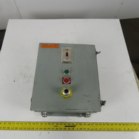 """Hoffman A16148CH Wall Mount Electrical Enclosure 16""""x14""""x8"""" Type 12,13 W/Extras"""