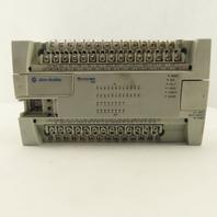 Allen Bradley 1762-L40BWA Micrologix 1200 Series C Rev H FRN11 DC Output I/O PLC