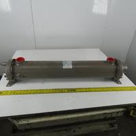 "Standard Xchange SN523006036003 SX2000 Shell & Tube Heat Exchanger 6""x 36"""