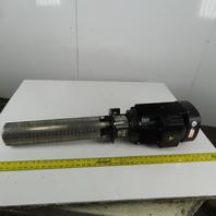 Grundfos CRK2-220/19 B-M-A-AUUV 3 Vertical Multistage Centrifugal Coolant Pump