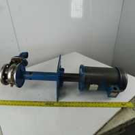 Kerr 5180 5Hp Vertical Process Pump Size 2-1/2x1-1/2 5X4.94 208-230/460V 3Hp