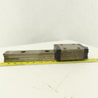 "Star 45mm Linear Profile Guide Rail Bearing Block Assembly 14-5/8"" Long"