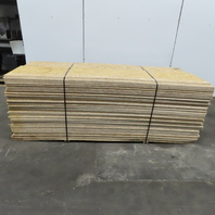 "3/8""x96""L OSB (90) 20-3/4"" & (90) 18-1/2"" Sheets Sheating Board Bunk Lot of 180"