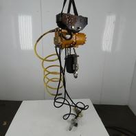 Ingersoll Rand ML500K-2C10-C6 1/2Ton Pneumatic Air Chain Hoist 10' Lift 50-97 FPM