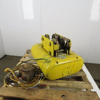 CM Chisholm-Moore 5815 1-1/2Ton Electric Hoist Wire Rope 480V 3Ph 20' Lift 18FPM