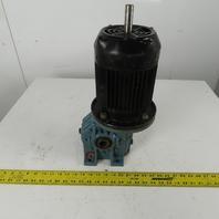 SITI Electro Adda MI 60V FC80B 40:1 Ratio 1/2Hp 440V AC Motor Gear Reducer
