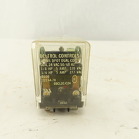 Deltrol 09CL2C-C24 165ML Ice Cube Relay DPDT Dual Coil 24VAC