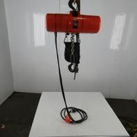 CM Lodestar RRS Electric Chain Hoist 2 Ton 16FPM 20'Lift 208-230/460V