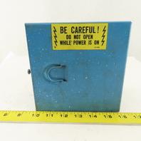 "6 x 6 x 4"" Hinged Door Type 1 Electrical J-Box Junction Box"