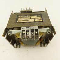 ERC 803634/11 220-440V 160VA 55V Secondary 1.45A Transformer