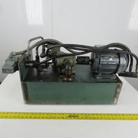 1HP Hydraulic Power Unit 10 Gal. Tank W/Vickers Valve D9484/010C 41 208-230/460V