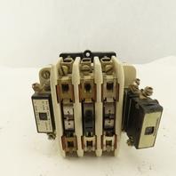 BBC Brown Boveri SLA 40 500V 34Hp 3Ph Contactor 110V Coil