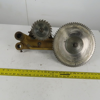 SCM Z30 Circular Saw And Scoring Saw Twin Blade Head Assembly